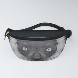 Icons of Africa - Ruffed Lemur Fanny Pack
