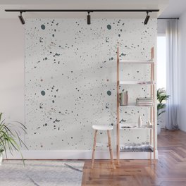 Colorful Ink Splatter 0021 Wall Mural