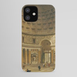 Giovanni Paolo Panini The Interior Of The Pantheon Rome iPhone Case