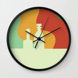 Mid-Century Modern Scotch Wall Clock