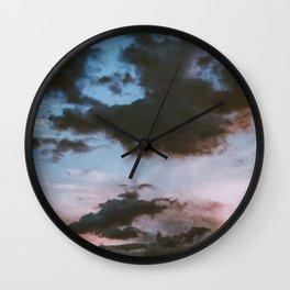 Dusk Sunset (Color) Wall Clock