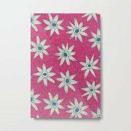 sema pink blue Metal Print