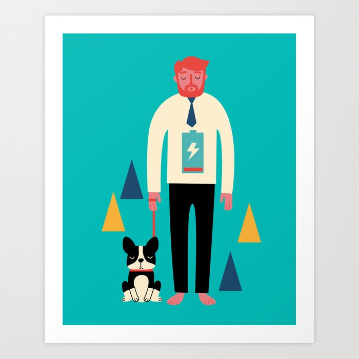 Discover the motif POWERLESS by Andy Westface as a print at TOPPOSTER