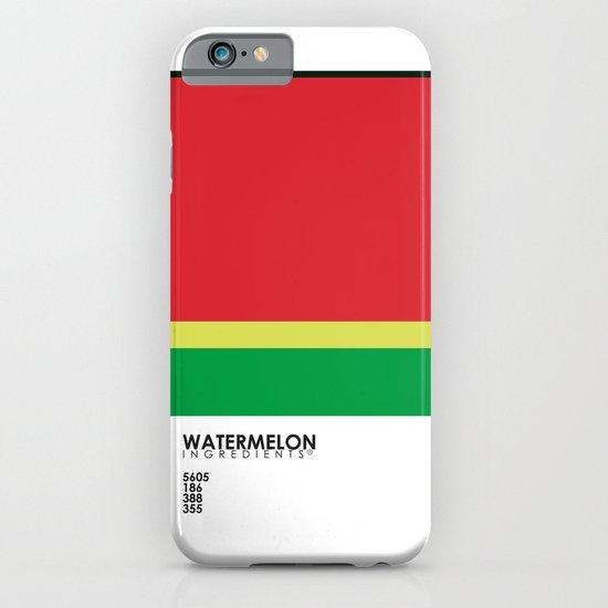 Pantone Fruit - Watermelon iPhone & iPod Case