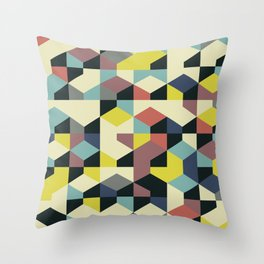 Abstract Geometric Artwork 52 Throw Pillow
