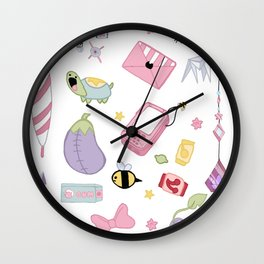 Space Temp Worker accessories Wall Clock