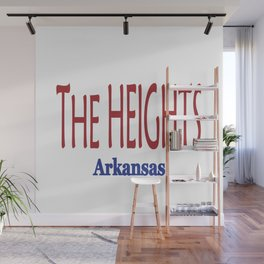 The HEIGHTS Wall Mural