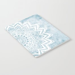 LIGHT BLUE MANDALA SAVANAH Notebook