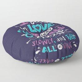 Fell in love Floor Pillow