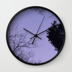 A Starry Night Wall Clock