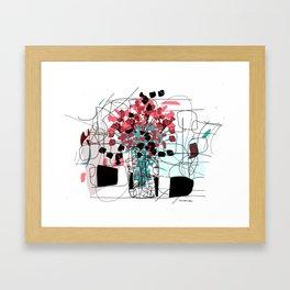 Bouquet II Framed Art Print