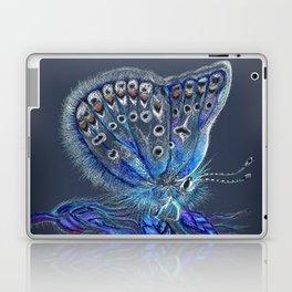 Love Lorn Butterfly-Blue & Navy Palette Laptop & iPad Skin