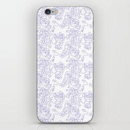 Dipper and Mabel Pattern iPhone Skin