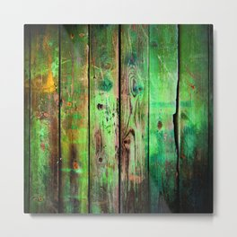 woodpaint Metal Print