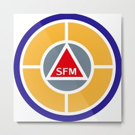 Success Factor Modeling Logo Metal Print