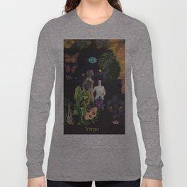 Virgo- Zodiac Wildlife Series Long Sleeve T-shirt