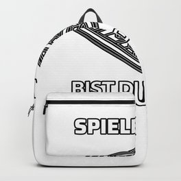 Game Night dice roll player gift Backpack