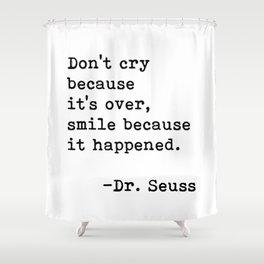 Dr Seuss Shower Curtain