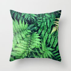 50 Shades of Green (1) Throw Pillow