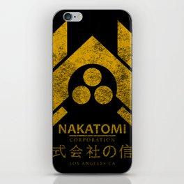 Nakatomi Corporation iPhone Skin