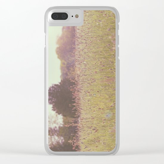 Tall Grass Clear iPhone Case
