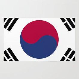 South Korea flag emblem Rug