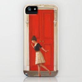 Hopscotch iPhone Case