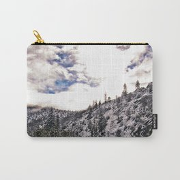 snowy reflection. Carry-All Pouch