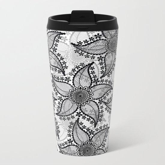 Pattern B 2 Metal Travel Mug