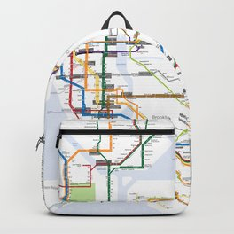 New York Subway Map Backpack