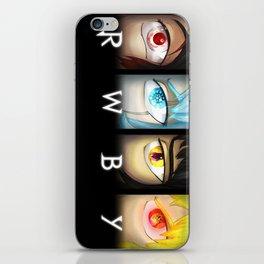 RWBY Eyes Poster iPhone Skin