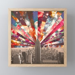 Superstar New York Framed Mini Art Print