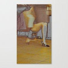 a modern lady Canvas Print