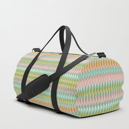 Shard Hand-Print Geometric - Meadow Duffle Bag