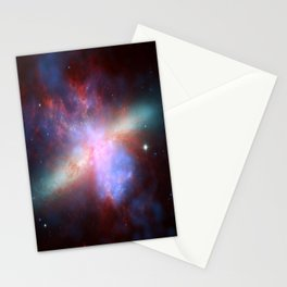 Galaxy Messier Stationery Cards