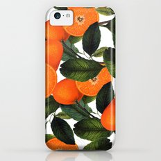 The Forbidden Orange #society6 #decor #buyart iPhone 5c Slim Case