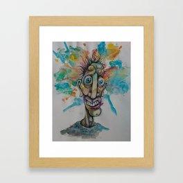 The Cosmic Derp Framed Art Print