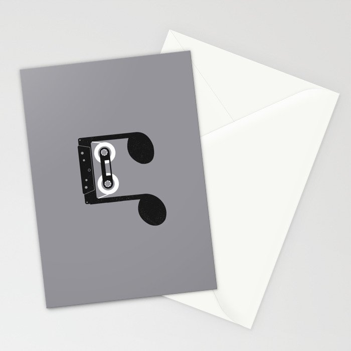 Analog Music Stationery Cards