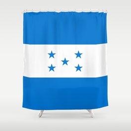 Flag: Honduras Shower Curtain