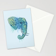 Elephant Portrait Stationery Cards