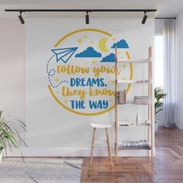 Teenspirational shirt tshirt tees Wall Mural