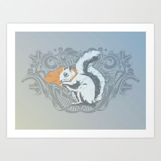 Fearless Creature: Chippy Art Print