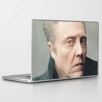 christopher walken Laptop & iPad Skins featuring Walken by AXLWD