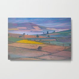 Nature Colour Field Metal Print