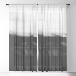 Glitch of the Subconscious Sheer Curtain
