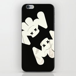 MARSHMELLO flag black iPhone Skin