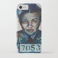 parks iPhone & iPod Cases featuring Rosa Parks by Debbie Chessell