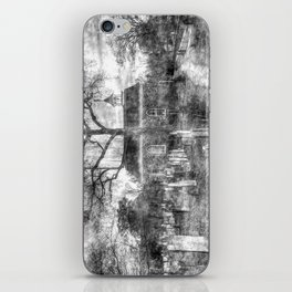 Old Dutch Church Of Sleepy Hollow Vintage iPhone Skin