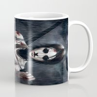 tomb raider Mugs featuring Tomb Raider by Max Grecke