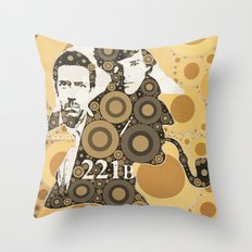 Residents of 221B Throw Pillow